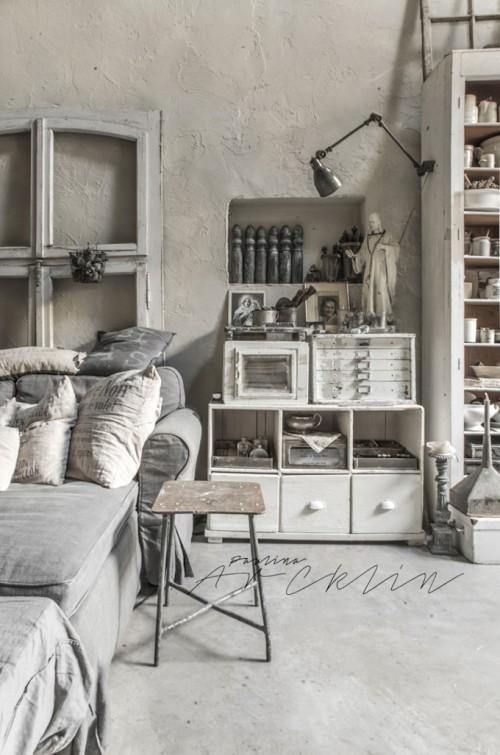 Industrieel chique slaapkamer door Paulina Archklin