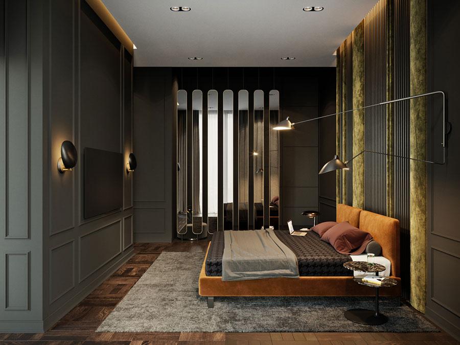 Super luxe en exclusieve slaapkamer