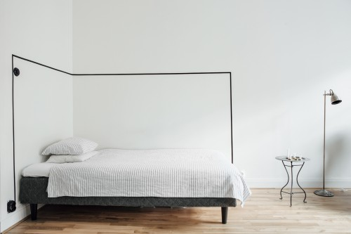 Tape aan slaapkamer muur | Slaapkamer ideeën