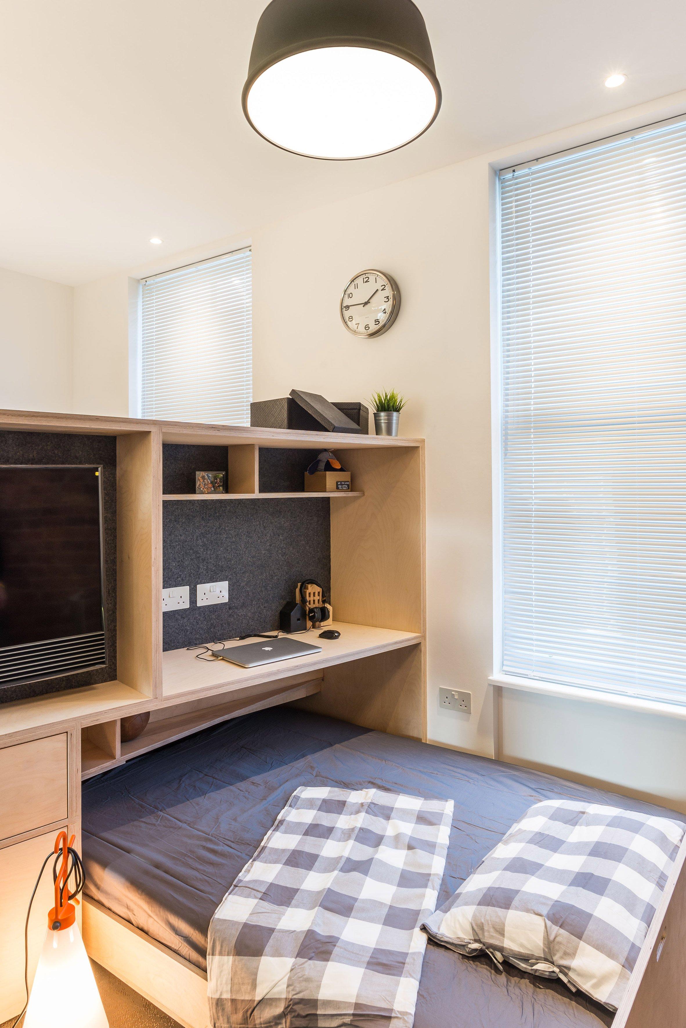 Twee slaapkamers in een klein studio appartement van 35m2, kan dat?