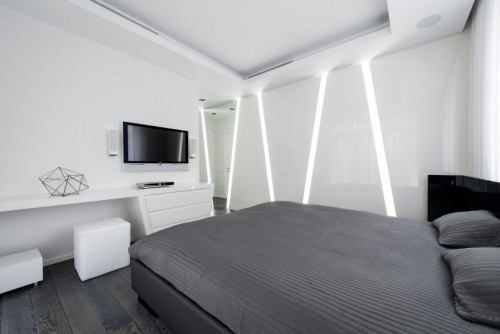 Slaapkamer Ideeen Grijs Wit.Ultra Moderne Slaapkamer Slaapkamer Ideeen