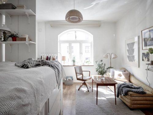 Verhoogd bed voor extra opbergruimte | Slaapkamer ideeën