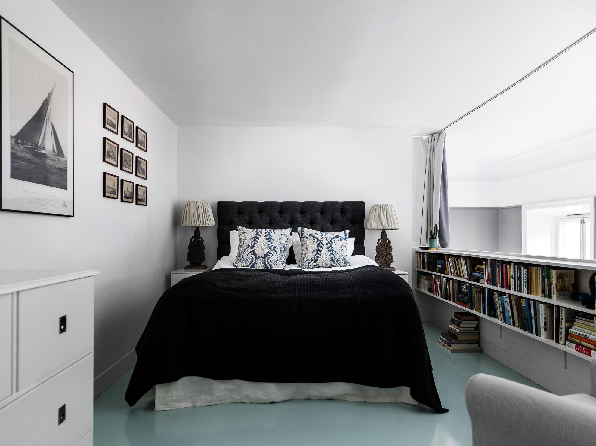 Vide slaapkamer in een Scandinavisch appartement | Slaapkamer ideeën