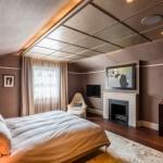 Vintage luxe slaapkamer van St. John's Wood Villa