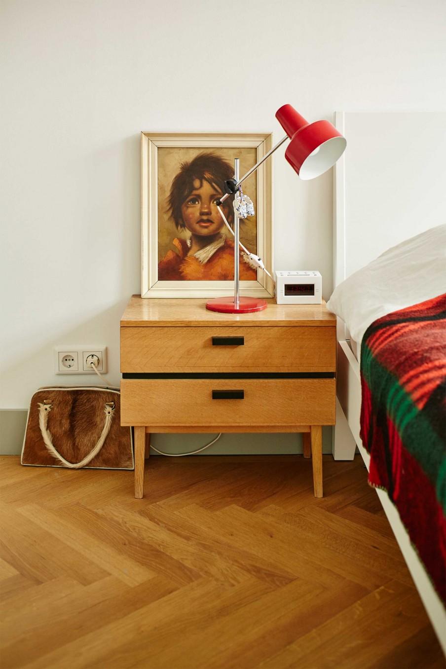 Vintage slaapkamer van Ed en Mandy