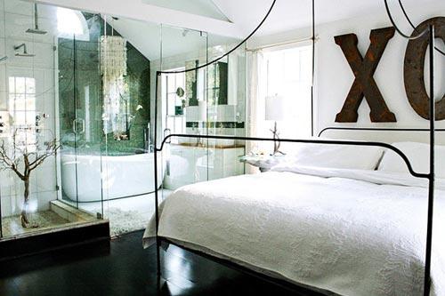 Slaapkamer Zolder Ideeen : Vintage slaapkamer op zolder slaapkamer ideeën