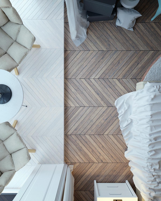 visgraat-vloer-slaapkamer