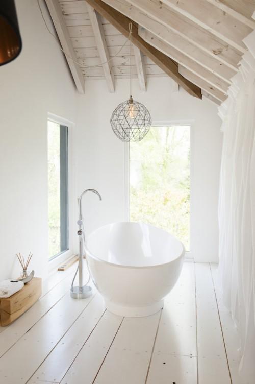 Inloopkast Ideeen Modern : Slaapkamer badkamer en inloopkast op zolder ...