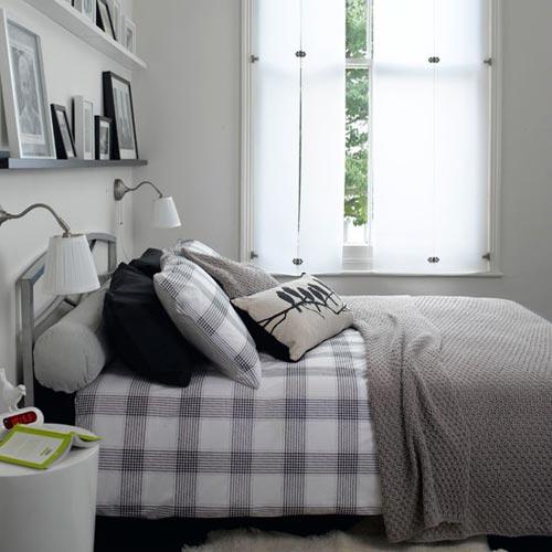 Wandplank voor de slaapkamer