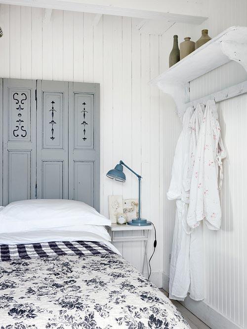 Blauwe Slaapkamer Ideeen : Witte slaapkamer met blauwe accenten idee?n