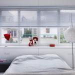 Witte slaapkamer door Mood Works