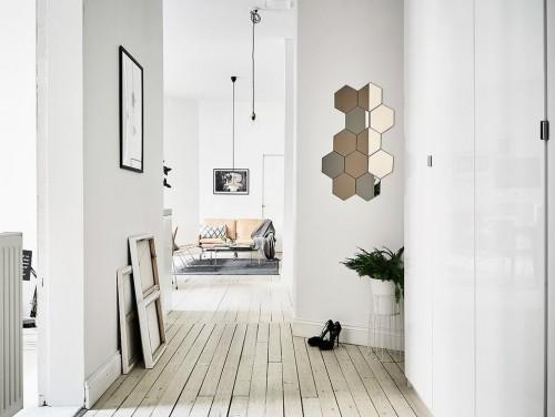 Witte slaapkamer slaapkamer idee n for Architecture hexagonale
