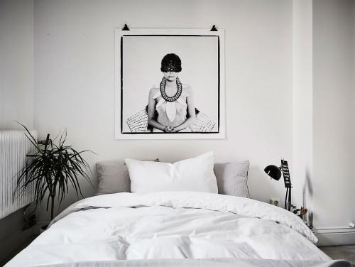 Slaapkamer Met Planten : Zo stijl je een witte slaapkamer Slaapkamer ...