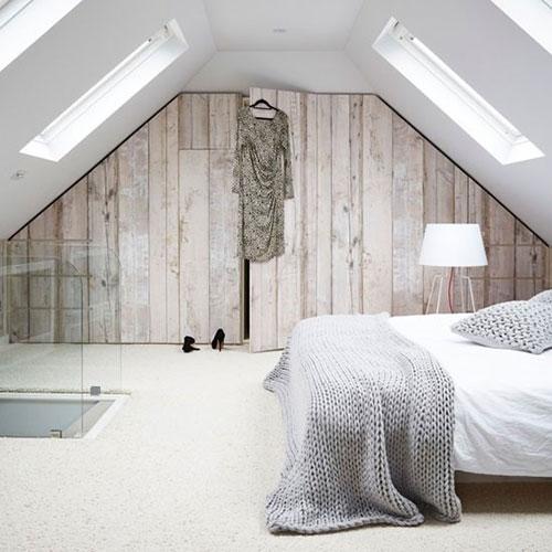 Zolder slaapkamer inrichten