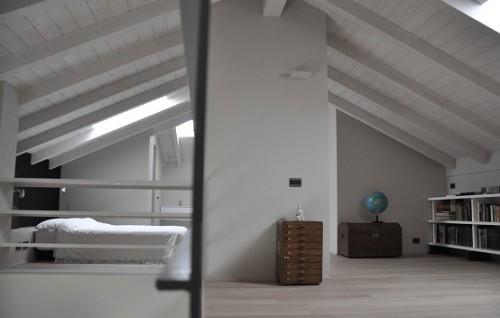 Zolder slaapkamer uit Italië