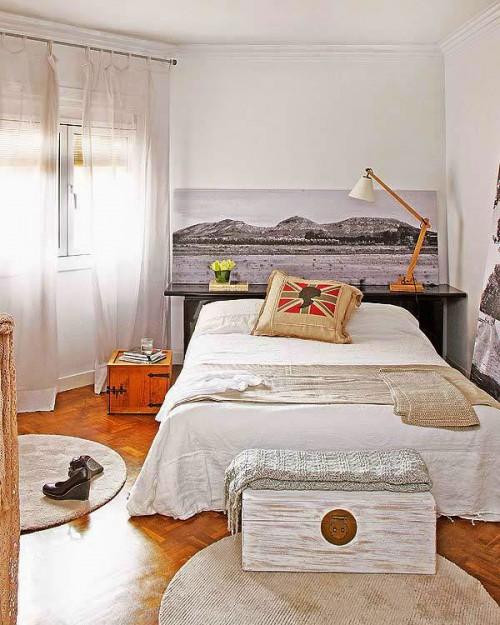 Zwart witte schilderijen in de slaapkamer  Slaapkamer ideeën