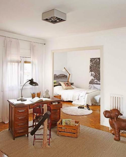 Zwart witte schilderijen in de slaapkamer | Slaapkamer ideeën