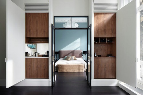 Zwarte Slaapkamer Ideeen : Karakteristieke slaapkamer industrieel ...
