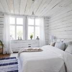 Zweedse rustieke slaapkamer